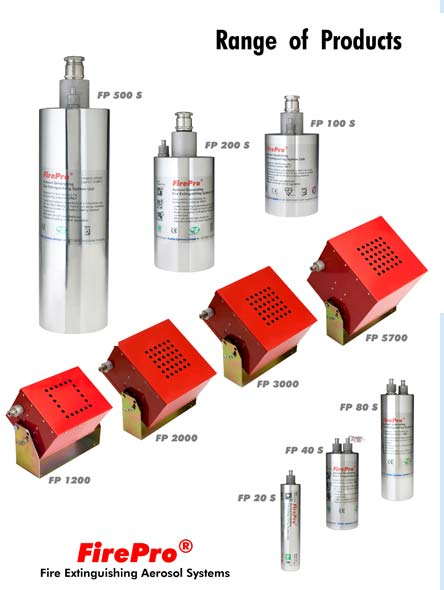 firepro range of products